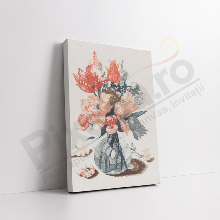 Imagine Tablou canvas flori PX 21033 vaza de flori