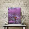 Imagine Tablou canvas flori PX 21034 fluture si violete