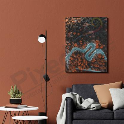 Imagine Tablou canvas peisaj PX 21035 drum de toamna