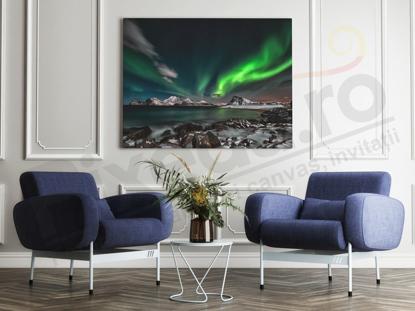 Imagine Tablou canvas peisaj PX 20050 aurora boreala