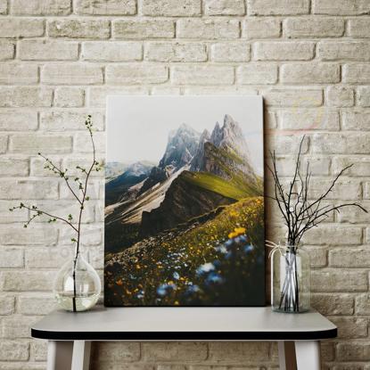 Imagine Tablou canvas peisaj PX 21040 munte innorat