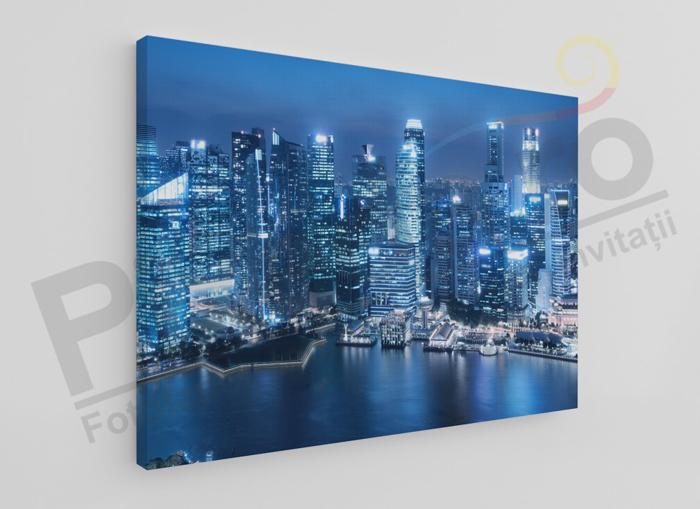 Imagine Tablou canvas urban PX 20052 orasul noaptea