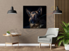 Imagine Tablou canvas animale PX 22007 caine ganditor