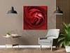 Imagine Tablou canvas flori  PX 22020 trandafir rosu