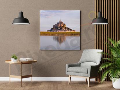 Imagine Tablou canvas peisaj PX 22029 castel  pe insula