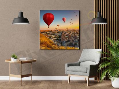 Imagine Tablou canvas peisaj PX 22031 baloane cu aer cald