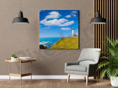 Imagine Tablou canvas peisaj PX 22032 felinar pe coasta