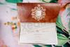 Imagine Invitatii nunta 19310 design baroc elegant